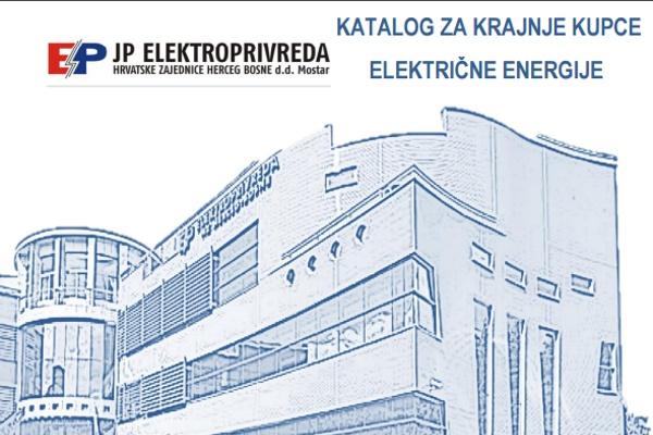 Izišao katalog za Kupce električne energije Elektroprivrede Hrvatske Zajednice Herceg Bosne