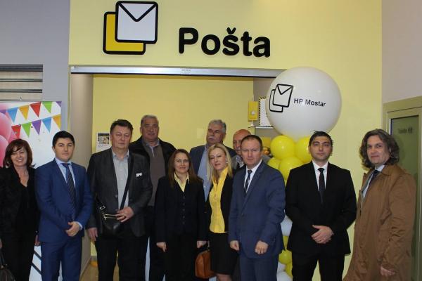 Otvoren novi poštanski ured HP Mostar u Širokom Brijegu