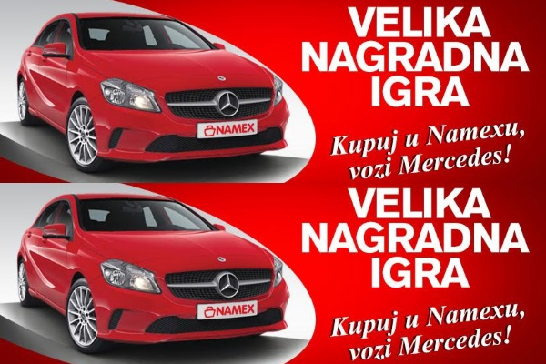 Kupuj u Namexu, vozi Mercedes – partneri