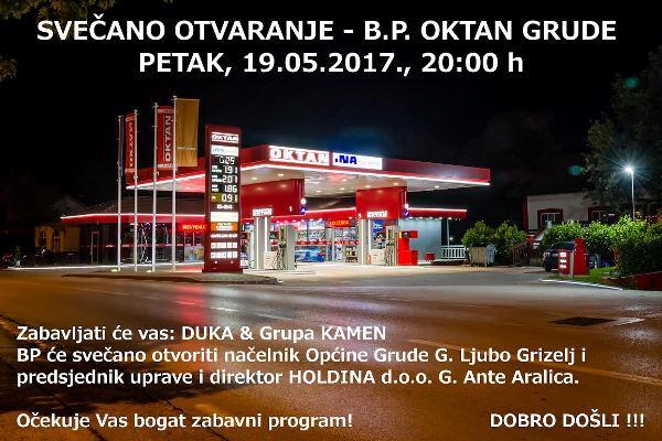 Svečano otvaranje benzinske pumpe OKTAN u Grudama
