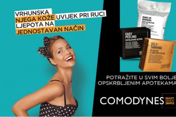 Tražite savršenu ljetnu kozmetiku – Potražite Comodynes!