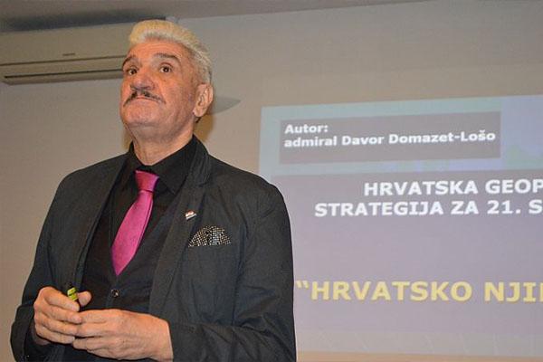 NAJAVA: Danas predstavljanje knjige admirala Davora Domazeta-Loše