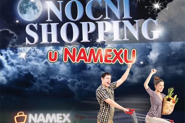 Noćni shopping u Namexu u Ljubuškom