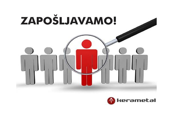 Natječaj za radno mjesto trgovac/monter