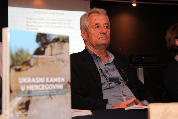 """Predstavljanje knjige """"Ukrasni kamen u Hercegovini"""" autora Vinka Bilopavlovića"""