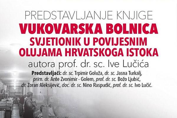 NAJAVA: Predstavljanje knjige prof. dr. sc. Ive Lučića u Mostaru