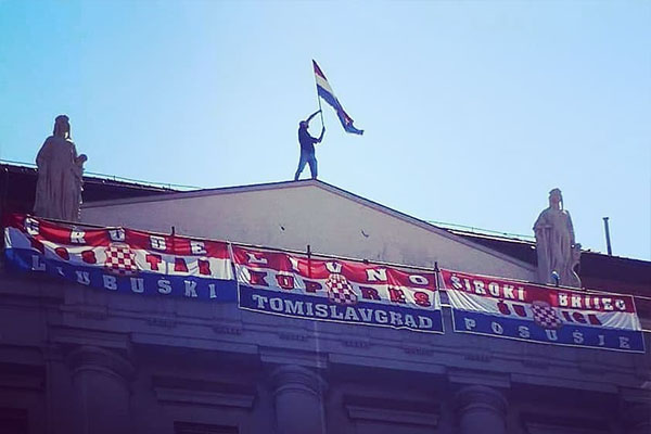Zastava Herceg Bosne S Imenima Gradova Izazvala Euforiju Na